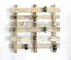 pallet wall succulent planter the definery co