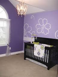 Purple Nursery Decor Baby Nursery Decor Sle Purple Baby Nursery Wooden Brown Floor