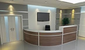 Fancy Reception Desk with Cute Design Of Corner Desk With File Drawer Tremendous Adjustable