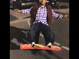 Skateboard Halloween Costumes Marty Mcfly Hoverboard Halloween Costume Future Tstc