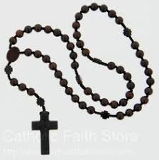 wooden rosaries this 5 decade wood rosary is made with excellent craftsmanship in
