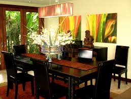 Tropical Dining Room Furniture by Contemporary Dining Room Tv Hawaii Tropical Rick Romer Set