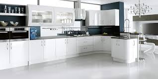 Shiny White Kitchen Cabinets High Gloss Kitchen Design Kitchentoday