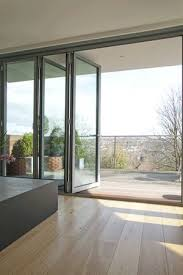 folding door glass schuco folding doors london aluminium windows and doors