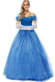 Cinderella Halloween Costume Adults Blue Princess Halloween Costume Halloween Costumes Cheap
