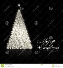 silver and black christmas tree christmas lights decoration