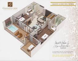 grand luxxe spa tower floor plan grand luxxe spa tower 2 br 2 5 ba riviera maya vrbo