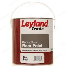 red floor paint leyland trade heavy duty floor paint 2 5l tile red
