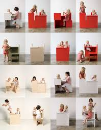 The Mother Child Dining  Modern Kids Furniture By Maartje - Modern kids furniture