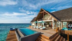 Maldives Cottages On Water by Maldives 2 Bedroom Villa Water Suites Four Seasons Landaa