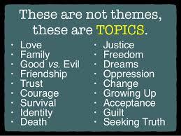 Seeking Theme Theme Statements