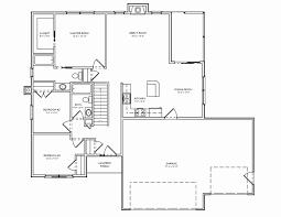 ranch homes floor plans 3 bedroom 3 bath house plan lovely house plan floor plans for