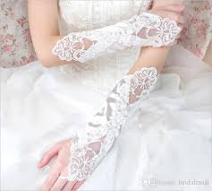 communion gloves 2017 beaded embroidery gloves in stock length pearls