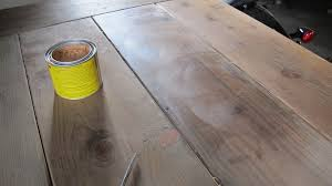 wax for wood table waxing a raw pine wood table merrypad