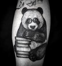 100 panda bear tattoo designs for men manly ink ideas