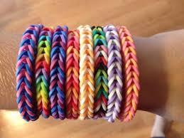 rubber bracelet made images How to make loom bands fishtail bracelet jpg