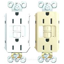 gfci receptacle with indicator light gfci red light outlet red light fresh receptacle with night light