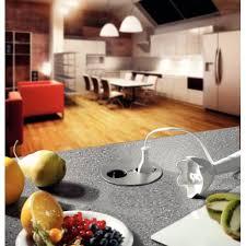prise electrique encastrable plan travail cuisine bloc prises twist encastrable plan de travail accessoires de cuisines