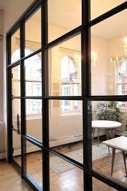 metal glass doors cli u2013 chloe isabel office renovation u2013 method design