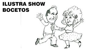 imagenes para dibujar faciles sobre el folklore paraguayo bocetos cómo dibujar pareja bailando tutorial ilustra show youtube