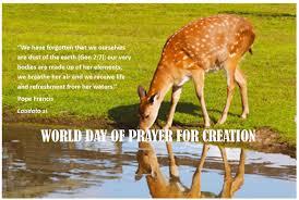 catholic prayer thanksgiving world day of prayer for the care of creation on 1 september 2015