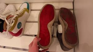 how i clean my christian louboutin sneakers youtube