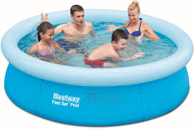 buy bestway 57252 pool autoportante fast set cm