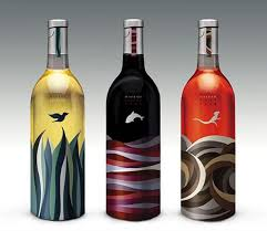 30 sweet wine bottle label designs
