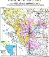 Map Of Albania An 1890 German Made Ethnographic Map Of Peloponnese Southern