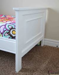 Diy Molding Twin Bed With Faux Raised Panel Her Tool Belt