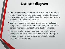 membuat use case skenario praktikum analisis dan perancangan sistem informasi ppt download