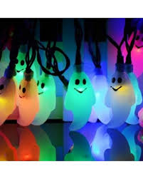 halloween ghost string lights snag these spring savings 50 off ghost solar string lights 20 ft
