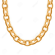golden chain bracelet images Chunky chain golden metallic necklace or bracelet personal jpg