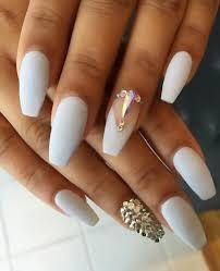 50 rhinestone nail ideas white nails choices and makeup