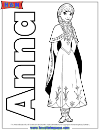 frozen elsa anna coloring pages getcoloringpages