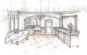 Interior Decoration Sketches Decoration Bathroom Interior Design Sketches With Home Ideas For