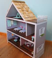 accessory house homemade doll house scott family homestead