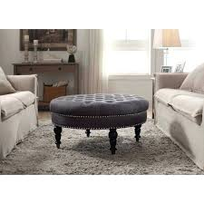 Tufted Ottoman Coffee Table Oval Ottoman Coffee Table Jessicastable Co