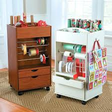ways to store wrapping paper gift wrap organizer dreadwood us