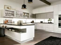 cuisine blanche plan de travail noir cuisine blanche plan travail noir en photo