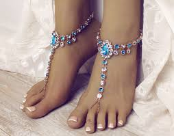 starfish barefoot sandals 30 barefoot wedding sandals for brides bridesmaids