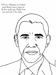 obama coloring page coloring pages president obama coloring page