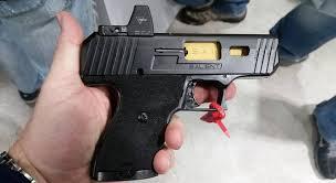 high point 2017 hi point disavows sai modded pistol at shot show photos