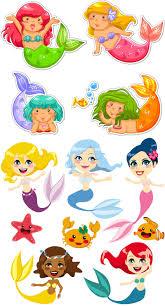 cartoon mermaid images clipart free clip art images clip art
