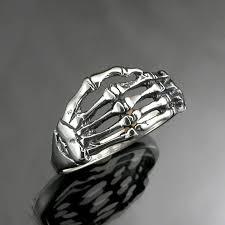 silver skeleton ring holder images Sterling silver skeleton hand ring jpg