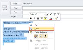 2 methods to quickly forward outlook emails with a template data