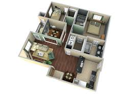 3d apartment floor plan design extraordinary 8 homekitchen cabinet