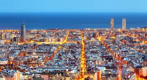 barcelona city view barcelona the city of gaudi