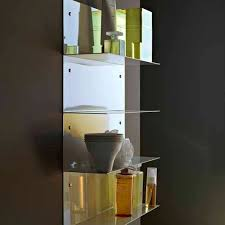 Bathroom Wall Mounted Shelves Wall Mounted Shelf Contemporary Metal Bathroom Faraway