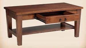 Open Coffee Table Oakwood Furniture Amish Furniture In Daytona Florida